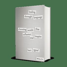 Leading Through Language Hardcover Mockup