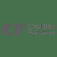 Cadillac Fairview Logo BW V2