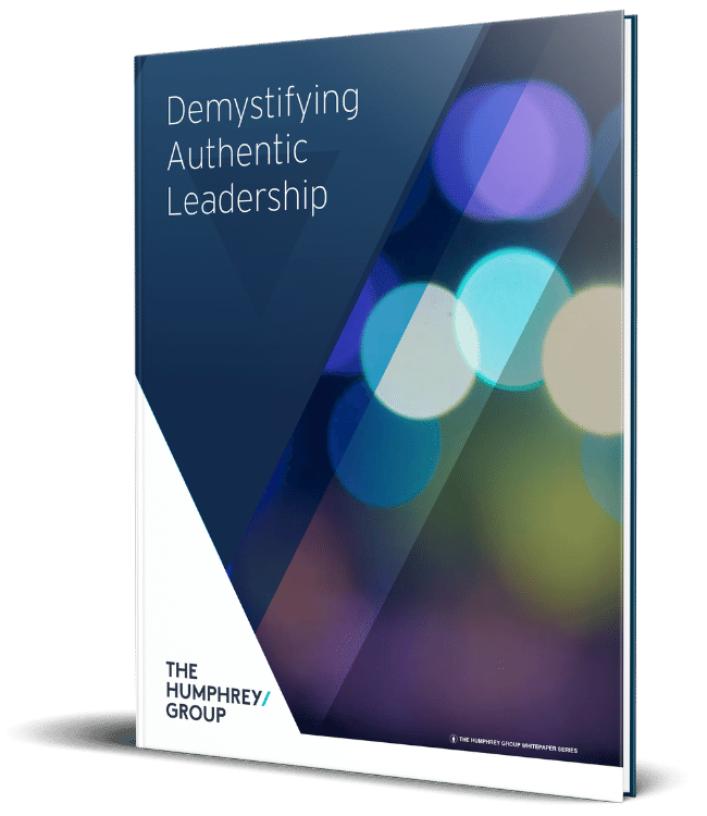 THG Authentic Leadership Whitepaper Book Mockup